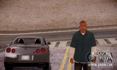 Franklin pour GTA San Andreas cinquième écran