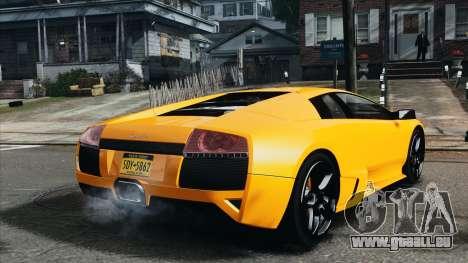 Lamborghini Murcielago LP640 2007 [EPM] pour GTA 4 Vue arrière de la gauche