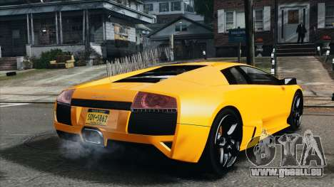 Lamborghini Murcielago LP640 2007 [EPM] für GTA 4 hinten links Ansicht