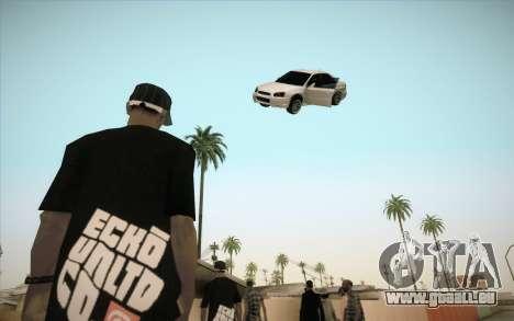 Mietwagen in Luft fixieren für GTA San Andreas dritten Screenshot