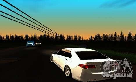 Honda Accord Tuning pour GTA San Andreas sur la vue arrière gauche