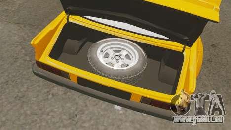 Opel Manta für GTA 4 Innenansicht