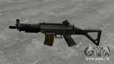 Sturmgewehr SIG SG 552 für GTA 4 dritte Screenshot