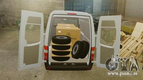 Mercedes-Benz Sprinter 2500 2011 v1.4 pour GTA 4 est une vue de dessous