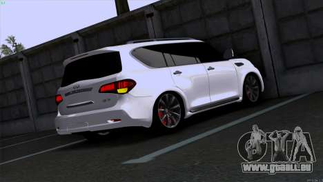Infiniti QX56 für GTA San Andreas linke Ansicht