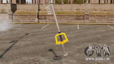 Une énorme clé pour GTA 4 secondes d'écran