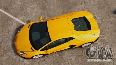 Lamborghini Aventador LP720-4 50th Anniversario pour GTA 4 est un droit