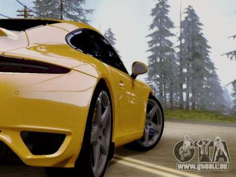 RUF RGT-8 pour GTA San Andreas vue arrière