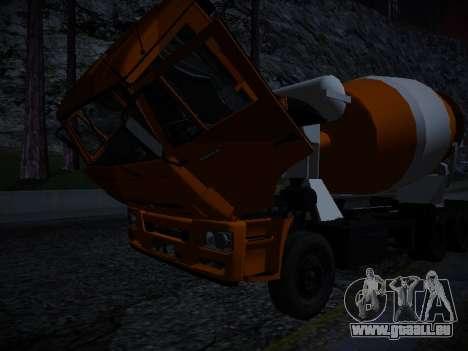 Aktives Dashboard v3. 2 Full für GTA San Andreas siebten Screenshot