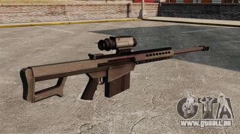 Fusil de précision Barrett M107 pour GTA 4 secondes d'écran