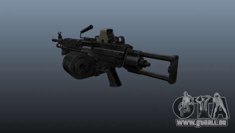 Die M249 Maschinengewehr für GTA 4 Sekunden Bildschirm