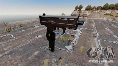 Pistolet mitrailleur UZI HK pour GTA 4