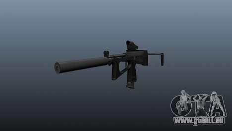 Pistolet mitrailleur pp-2000 v1 pour GTA 4