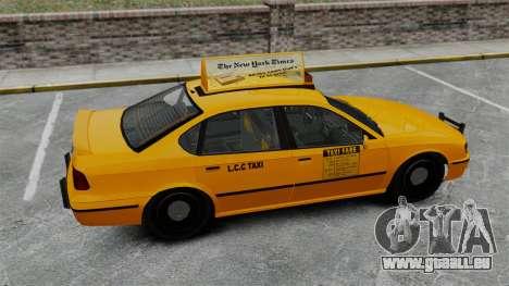 Véritable publicité sur les taxis et les bus pour GTA 4