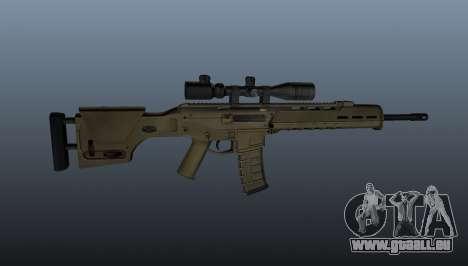 Selbstladegewehr Magpul Masada für GTA 4 dritte Screenshot