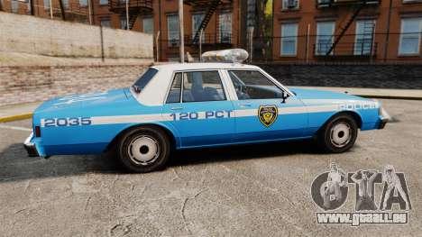 Chevrolet Caprice 1987 LCPD für GTA 4 linke Ansicht