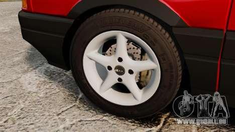 Volkswagen Passat B3 1995 für GTA 4 Rückansicht