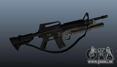 Automatique carabine M4A1 v1 pour GTA 4 troisième écran