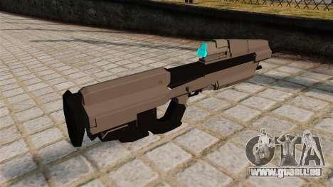 Das Halo-Sturmgewehr für GTA 4 Sekunden Bildschirm