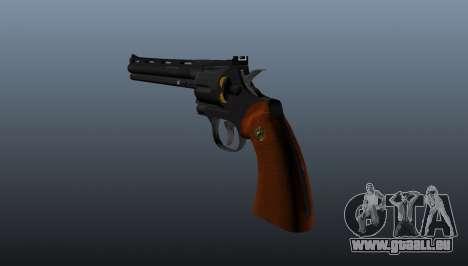 Revolver Python 357 8 dans pour GTA 4 secondes d'écran