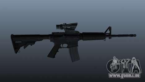 Automatische M4 Karabiner für GTA 4 dritte Screenshot