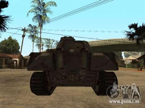 Pzkfpw V Panther pour GTA San Andreas vue de droite