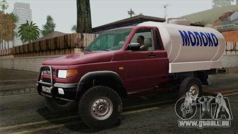UAZ-2360-Milch für GTA San Andreas