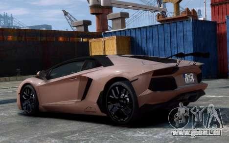Lamborghini Aventador LP760-4 Oakley Design für GTA 4 Rückansicht