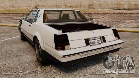 Sabre Rod Ride pour GTA 4 Vue arrière de la gauche