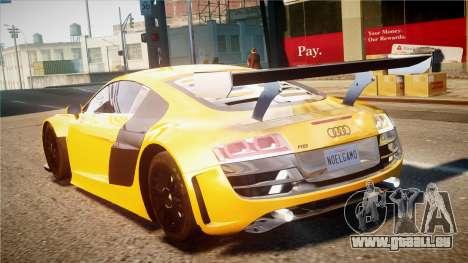 Audi R8 LMS für GTA 4 Rückansicht