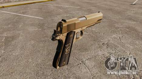Colt M1911 pistolet v2 pour GTA 4 secondes d'écran