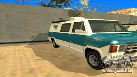 News Van HQ für GTA San Andreas linke Ansicht