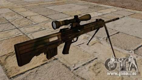 Fusil de précision QBU-88 pour GTA 4 secondes d'écran