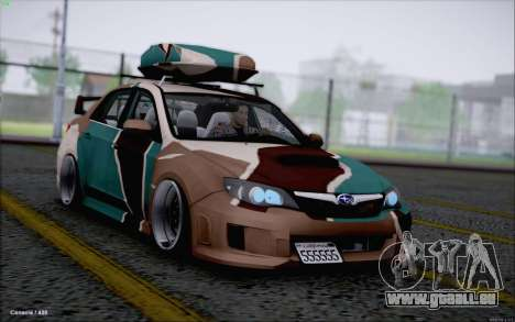 Subaru Impreza Arma pour GTA San Andreas