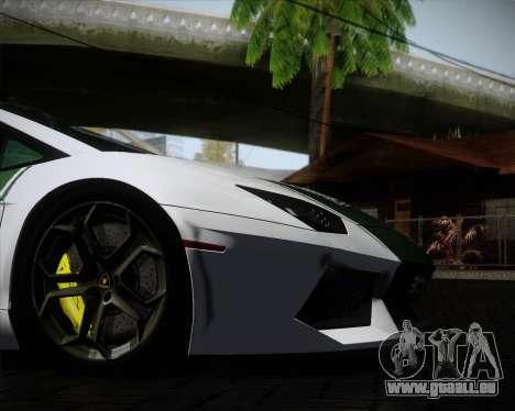 Lamborghini Aventador LP700-4 2012 RCPD V1.0 für GTA San Andreas obere Ansicht