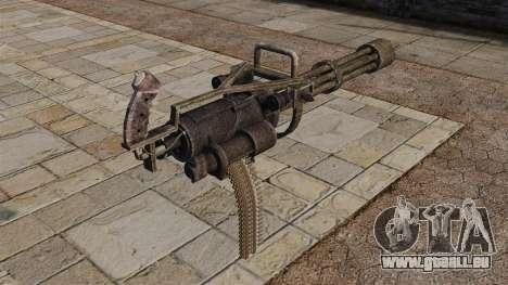 Minigun pour GTA 4 secondes d'écran