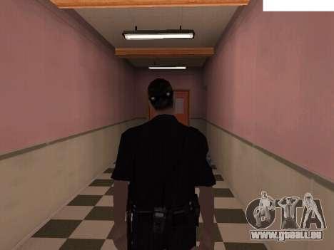 New Police pour GTA San Andreas deuxième écran