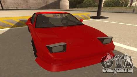 Nissan Onevia für GTA San Andreas linke Ansicht