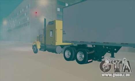 Kenworth W900L pour GTA San Andreas laissé vue