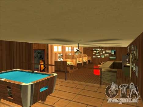 Neue Texturen für den Innenausbau für GTA San Andreas