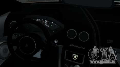 Lamborghini Murcielago LP640 2007 [EPM] pour GTA 4 est une vue de dessous