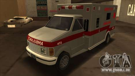 Ambulance HD from GTA 3 für GTA San Andreas
