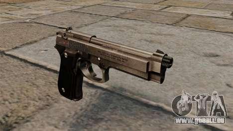 Pistolet semi-automatique Beretta 92 pour GTA 4