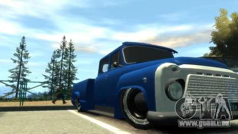 GAZ 53 für GTA 4 Innen