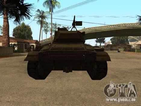 M24-Chaffee für GTA San Andreas rechten Ansicht