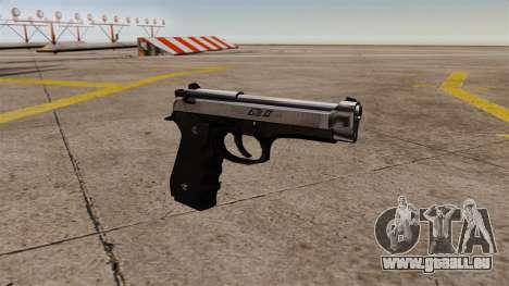 Ladewagen Pistole Beretta M92 für GTA 4