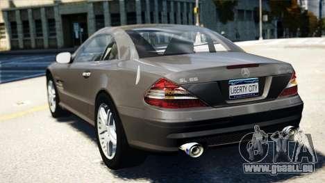 Mercedes-Benz SL65 2007 pour GTA 4 est une gauche