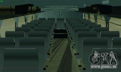 LAZ 699R pour GTA San Andreas vue intérieure