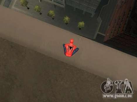 S'accroupir comme amazing Spider-man pour GTA San Andreas deuxième écran