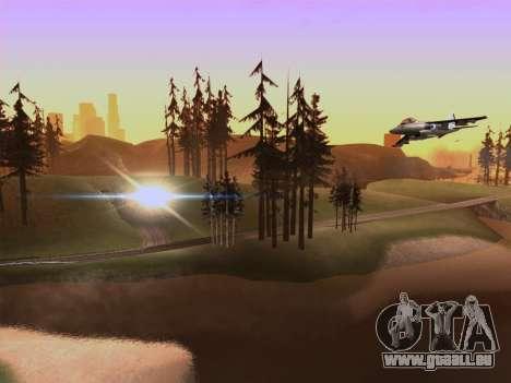SA_RaptorX v2.0 pour PC faible pour GTA San Andreas quatrième écran